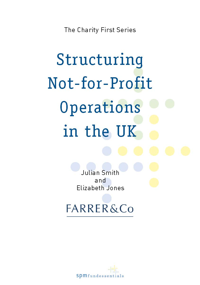 Structuring Not-for-Profit Operations in the UK